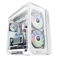 Thermaltake View 51 Tempered Glass Snow ARGB Edition Full Tower Chassis