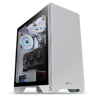 Thermaltake S300 Tempered Glass Snow Edition Mid Tower Chassis