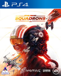 Star Wars: Squadrons (PS4) - Cover