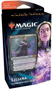 Magic: The Gathering - Core Set 2021 Planeswalker Deck - Liliana (Trading Card Game)