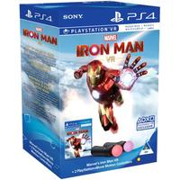 Marvel's Iron Man VR + 2 PlayStation Move Motion Controllers (PS4)