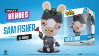 "Ubisoft Chibi Figurine - Ubisoft Heroes Collection Series 1 Rabbids/Sam Fisher ""Rabbids"""