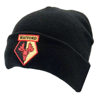 Watford F.C. - Cuff Knitted Hat - Black