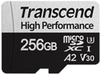 Transcend - TS256GUSD330S 256GB microSDXC 330S High Performance Memory Card with Adaptor