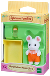 Sylvanian Families - Marshmallow Mouse Baby (Playset)