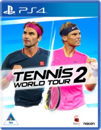 Tennis World Tour 2 (PS4) - Cover