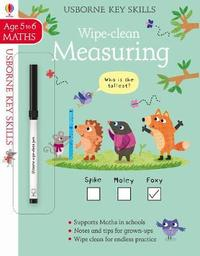 Ks Wipe Clean Measuring 5 6 - Holly Bathie - Cover