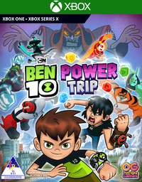 Ben 10: Power Trip (Xbox One / Xbox Series X) - Cover