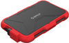 Orico - 2.5 inch USB 3.0 External HDD Red Silica Gel Enclosure - Red