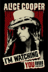 Alice Cooper - I'm Watching You Poster