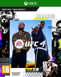 EA Sports UFC 4 (Xbox One / Xbox Series X) - Cover
