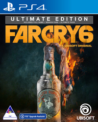 Far Cry 6 - Ultimate Edition (PS4) - Cover
