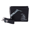 Metallica - Black Album Embossed Wallet With Chain