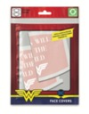 Wonder Woman - Women Will Save the World Face Covering (Pack of 2) (Face Covering)