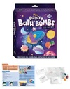 Curious Craft : Mini Galaxy Bath Bombs (Paperback)