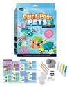 Curious Craft : Paint-Pour Pets (Paperback)