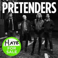 Pretenders - Hate For Sale (CD) - Cover