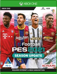eFootball PES 2021 SEASON UPDATE (Xbox One) - Cover