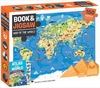 Map of the World - Book and Puzzle - Hinkler (150 Pieces)