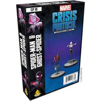 Marvel: Crisis Protocol - Spider-Man & Ghost-Spider Character Pack (Miniatures)