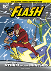 The Flash And The Storm Of The Century - Michael Anthony Steele (Hardcover)
