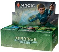 Magic: The Gathering - Zendikar Rising Draft Single Booster (Trading Card Game) - Cover