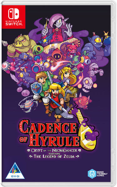 Cadence of Hyrule: Crypt of The Necrodancer Featuring The Legend of Zelda (Nintendo Switch)