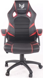RogueWare Forza Series Black/Red Gaming Chair - Cover