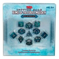 Dungeons & Dragons - Icewind Dale: Rime of the Frostmaiden Dice Set (Role Playing Game) - Cover