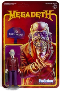 Megadeth - Vic Rattlehead Reaction Figure - Cover