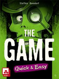 The Game - Quick & Easy (Card Game) - Cover