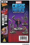 Marvel: Crisis Protocol - Magneto and Toad Pack (Miniatures)