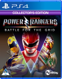 Power Rangers: Battle for the Grid (PS4) - Cover