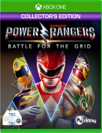 Power Rangers: Battle for the Grid (Xbox One) - Cover