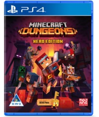 Minecraft Dungeons: Hero Edition (PS4) - Cover
