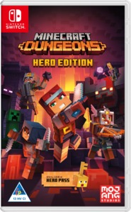 Minecraft Dungeons: Hero Edition (Nintendo Switch) - Cover