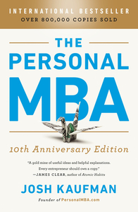 The Personal MBA - Josh Kaufman (Paperback) - Cover