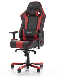 DXRacer - KING K06-NR Gaming Chair - Black/Red