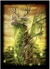 Legion Supplies - Standard Card Game Sleeves - Double-Matte Dragon of the Wilds (50 Sleeves)