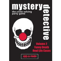 Mystery Detective - Vol. 2: Funny Death and Real Life Cases (Party Game)