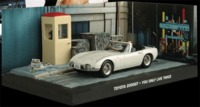 The James Bond Car Collection - 1/43 - You Only Live Twice - Toyota 2000 (Dice Cast Model) - Cover