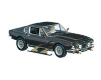 The James Bond Car Collection - 1/43 - The Living Daylights - Aston Martin V8 (Dice Cast Model) - Cover