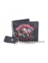 Iron Maiden - Trooper Embossed Wallet With Chain