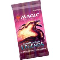 Magic: The Gathering - Commander Legends Single Collector's Booster (Trading Card Game)