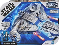 Star Wars - Mission Fleet Deluxe Vehicle Falcon - Cover