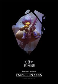 The City of Kings - Ancient Allies Character Pack 2 Expansion (Board Game)