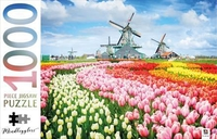 Dutch Windmills, Netherland Puzzle - Mindbogglers (1000 Pieces) - Cover