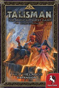 Talisman (Revised 4th Edition) - The Firelands Expansion (Board Game)