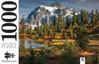 Mount Shaksan & Picture Lake, USA Puzzle - Mindbogglers (1000 Pieces) - Cover