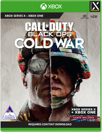 Call of Duty: Black Ops Cold War (Xbox Series X / Xbox One) - Cover